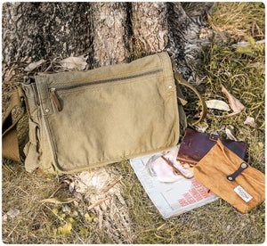 canvas messenger bag 30622-1