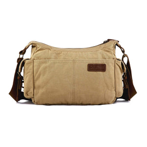 Gootium Vintage Canvas Shoulder Bag #21218