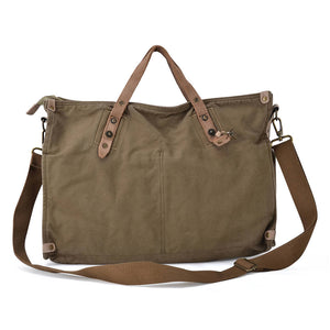 Gootium Canvas Shoulder Bag #31249