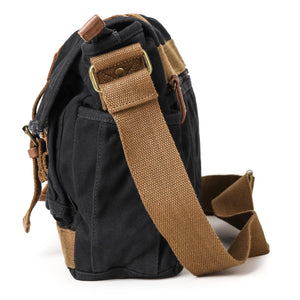 Gootium Canvas Frayed Style Messenger Bags #80808