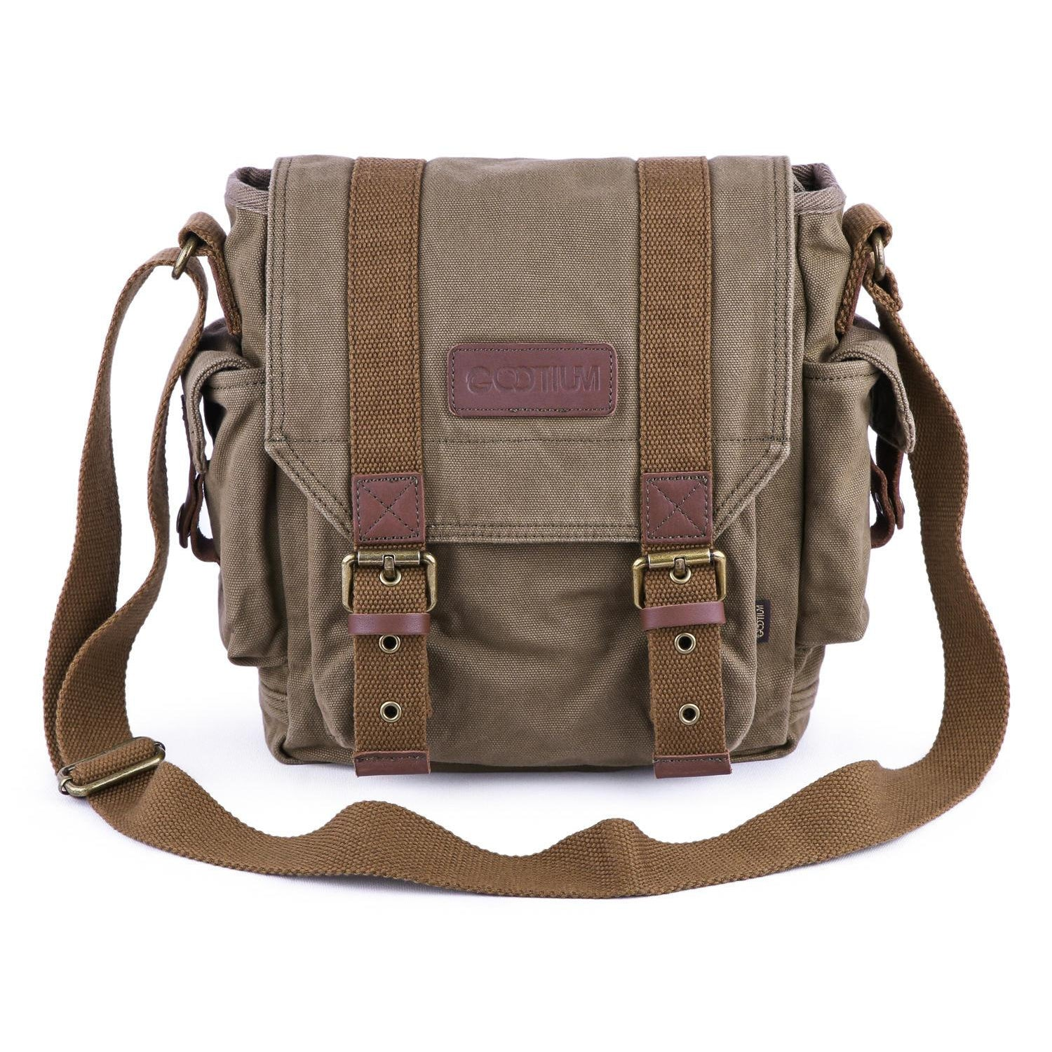 Satchel 21217 Canvas Mens Gootium Bag w7BBPAUFq
