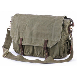 Gootium Vintage Canvas Messenger Bag #60403
