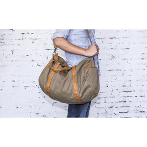 Gootium Vintage Canvas Gym Bag #30317