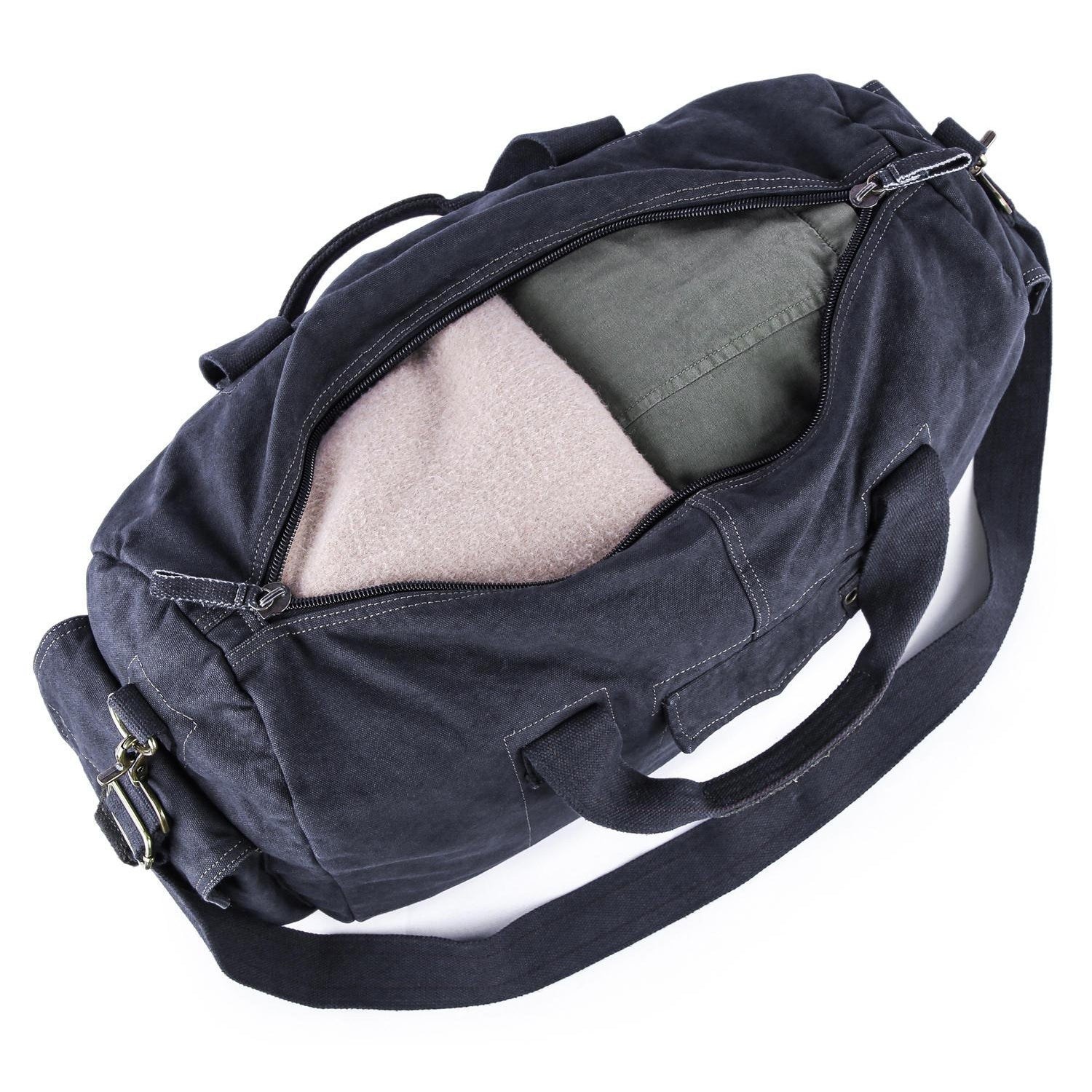Gootium Canvas Duffel Bag  60404 c5f0a77162a59
