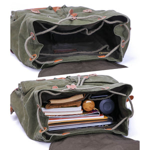 Gootium Vintage Canvas Backpack #70301