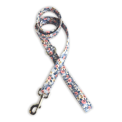 Cream, Pink, & Navy Leash