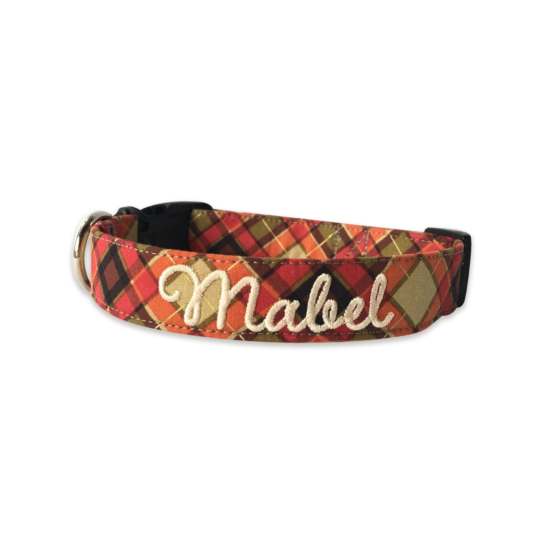Fall Plaid Collar