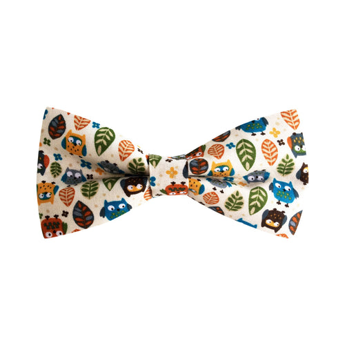 Fall Owls Bow Tie