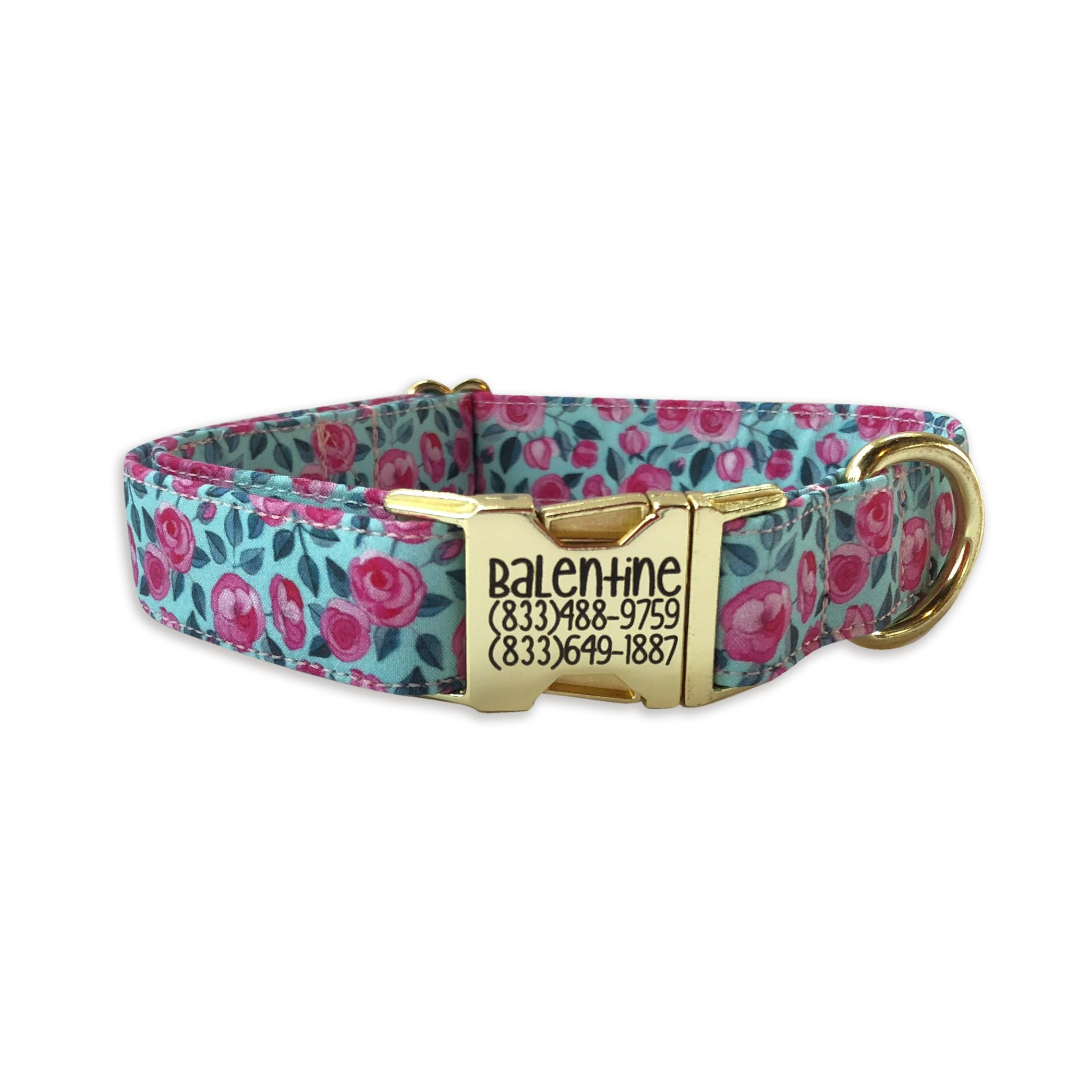 Watercolored Roses Collar