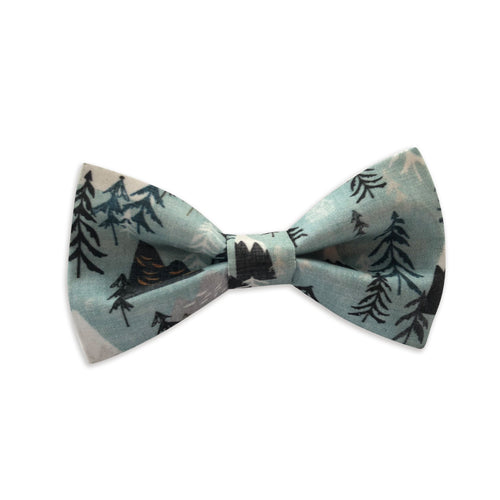 Mountain Hikes Bow Tie