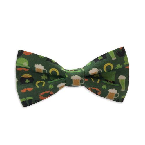 St. Patricks Beers & Beards Bow Tie