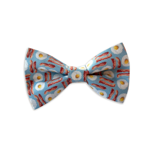 Bacon and Eggs Bow Tie