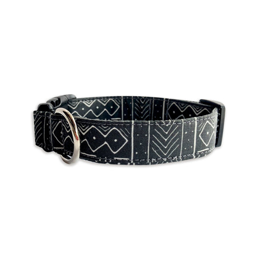 Mudcloth Dog Collar