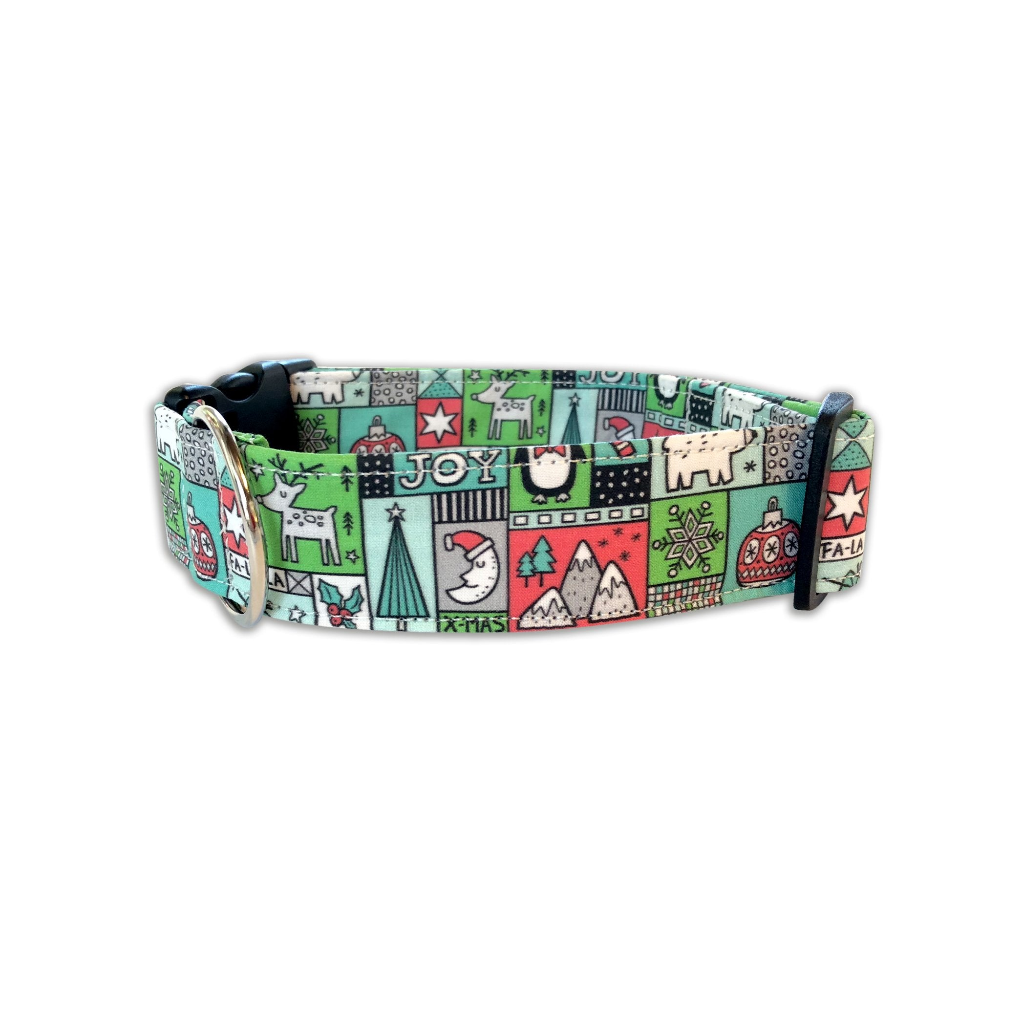 Christmas Patchwork Collar
