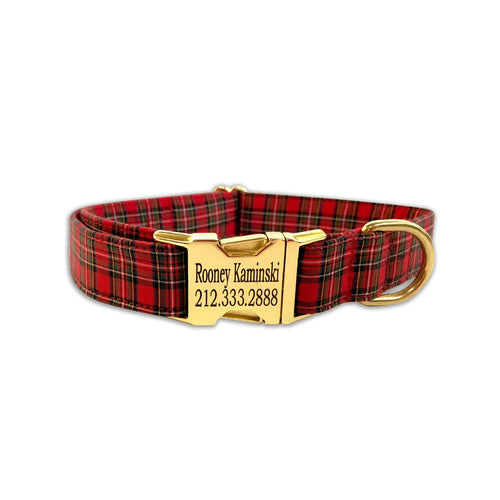 Tartan Plaid Collar
