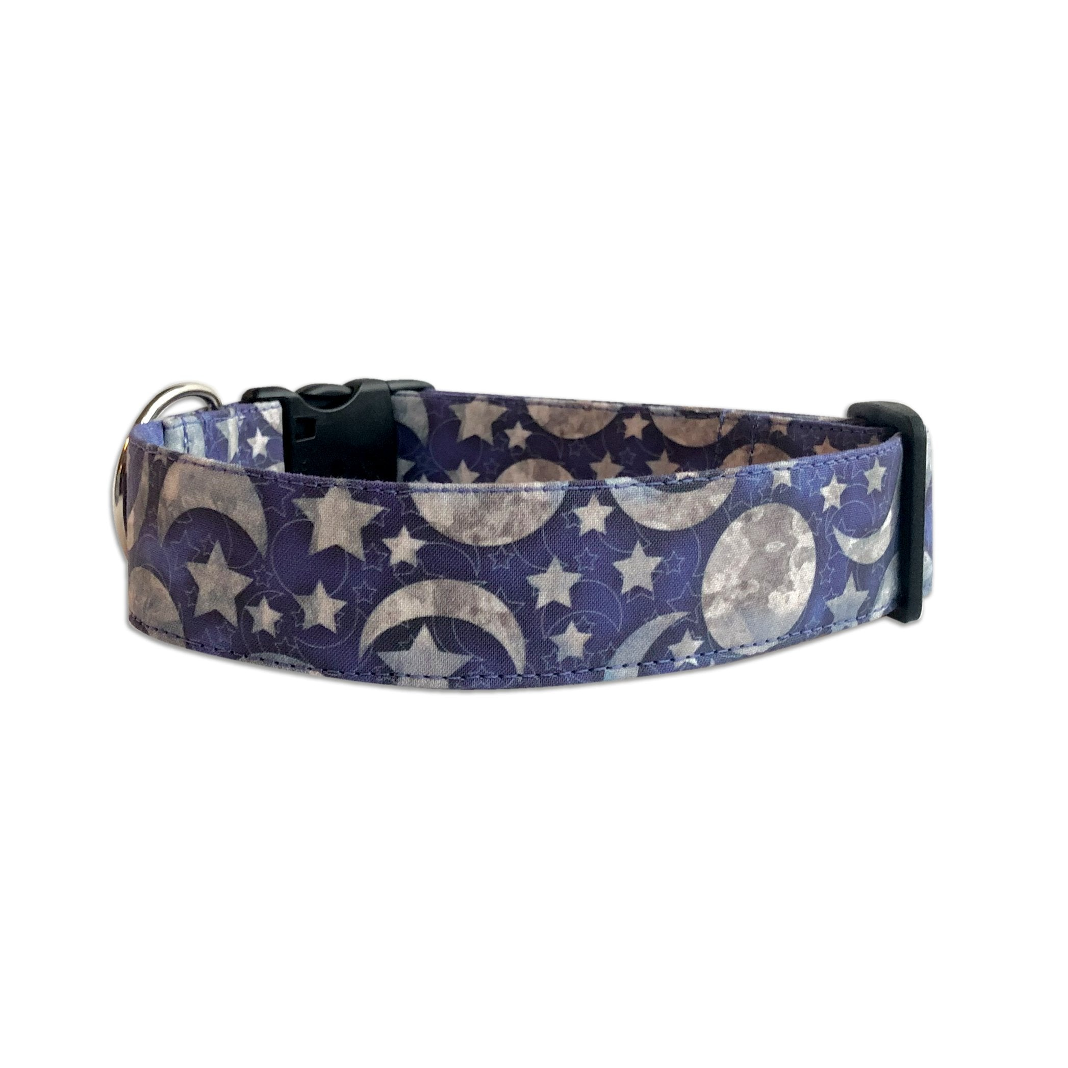 Stars and Moon Personalized Collar