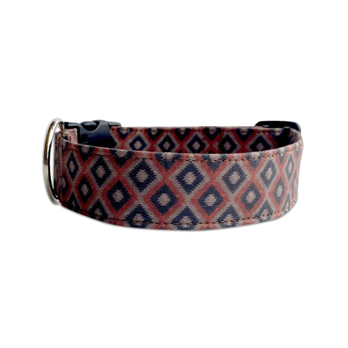 Brown Aztec Dog Collar