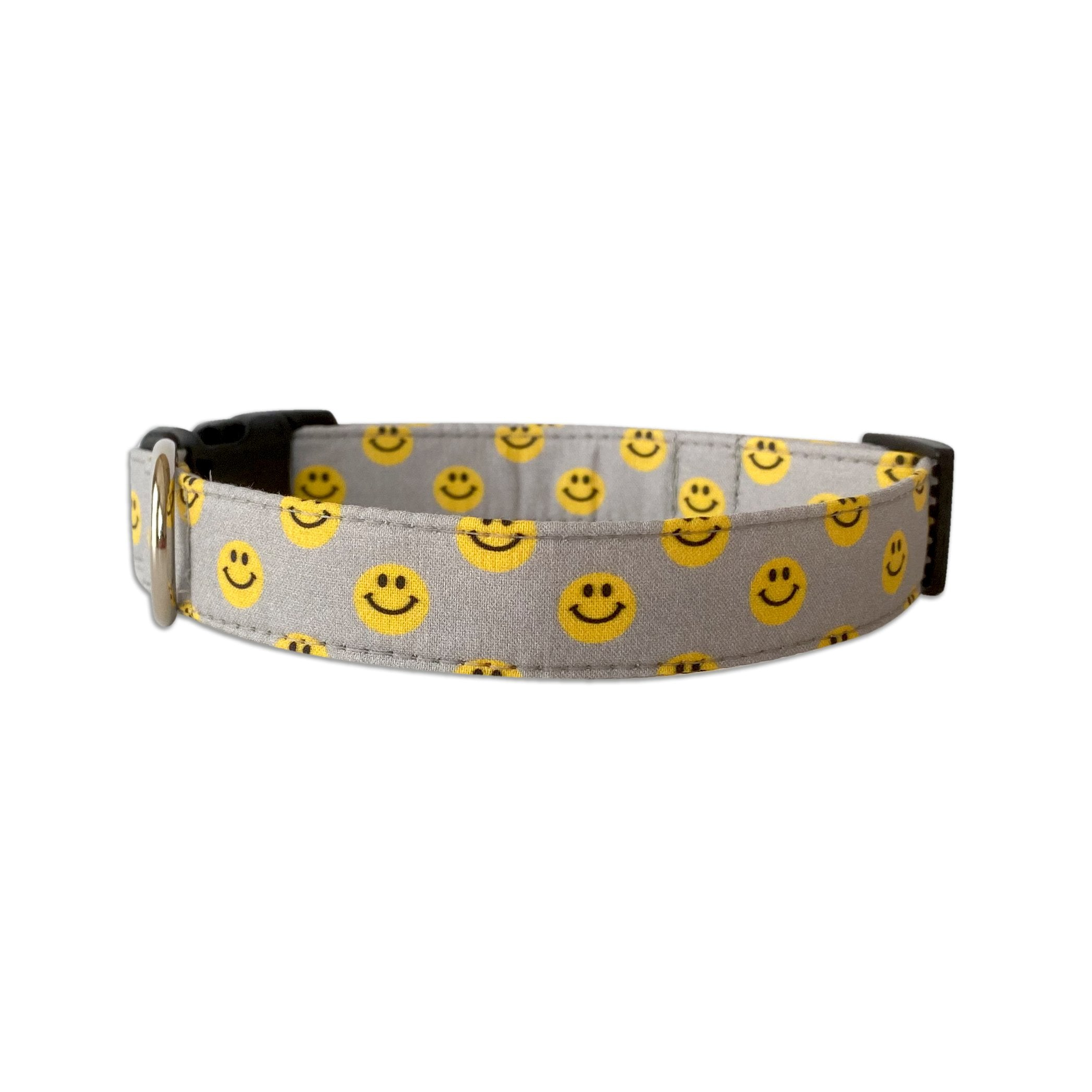 Don't Worry, Be Happy Dog Collar