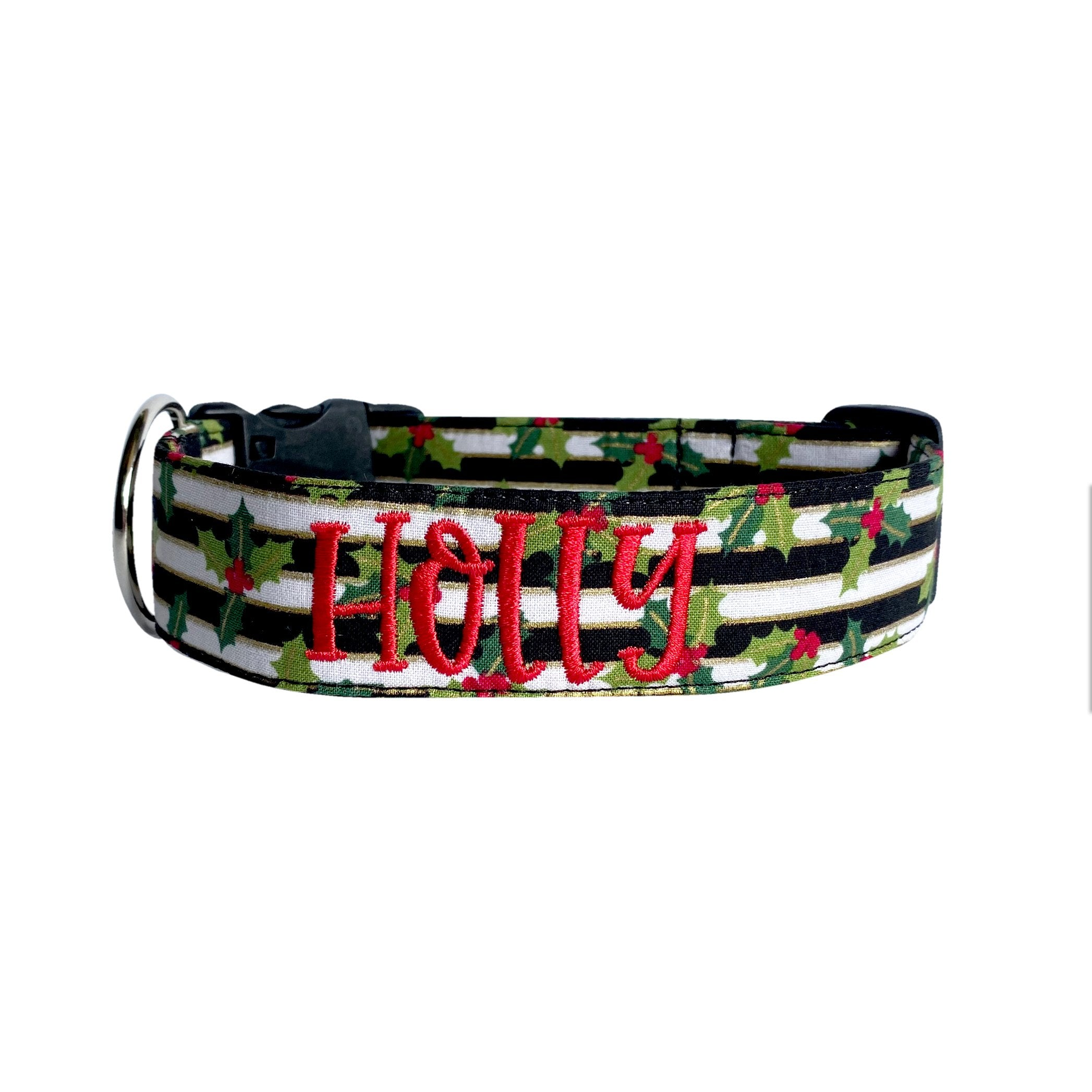 Holly Jolly Christmas Collar