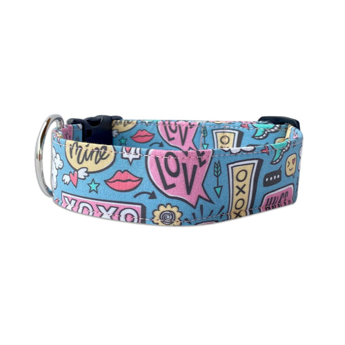 Conversations of Love Dog Collar