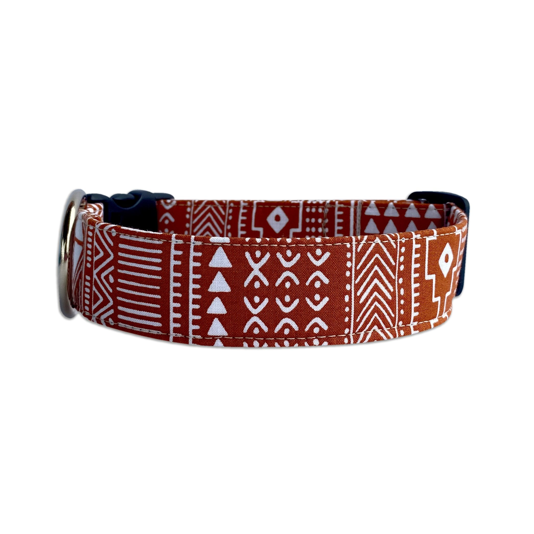 Burnt Orange Boho Collar
