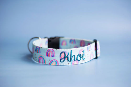 Somewhere Over the Rainbow Collar