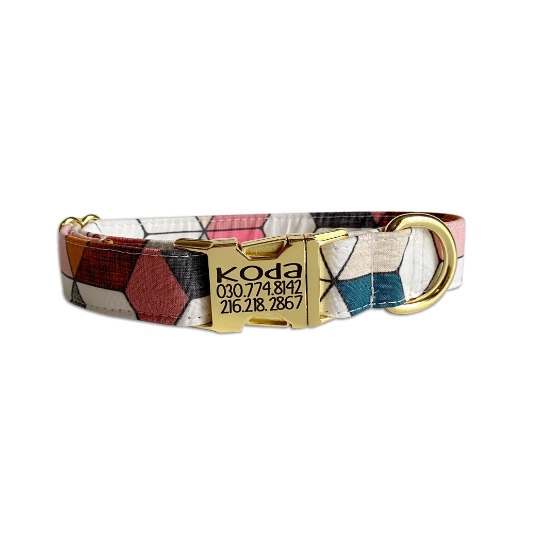 Geometric Dog Collar