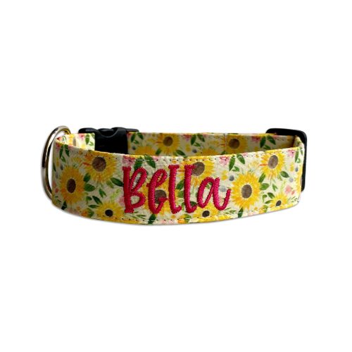Late Summer Sunflower Collar