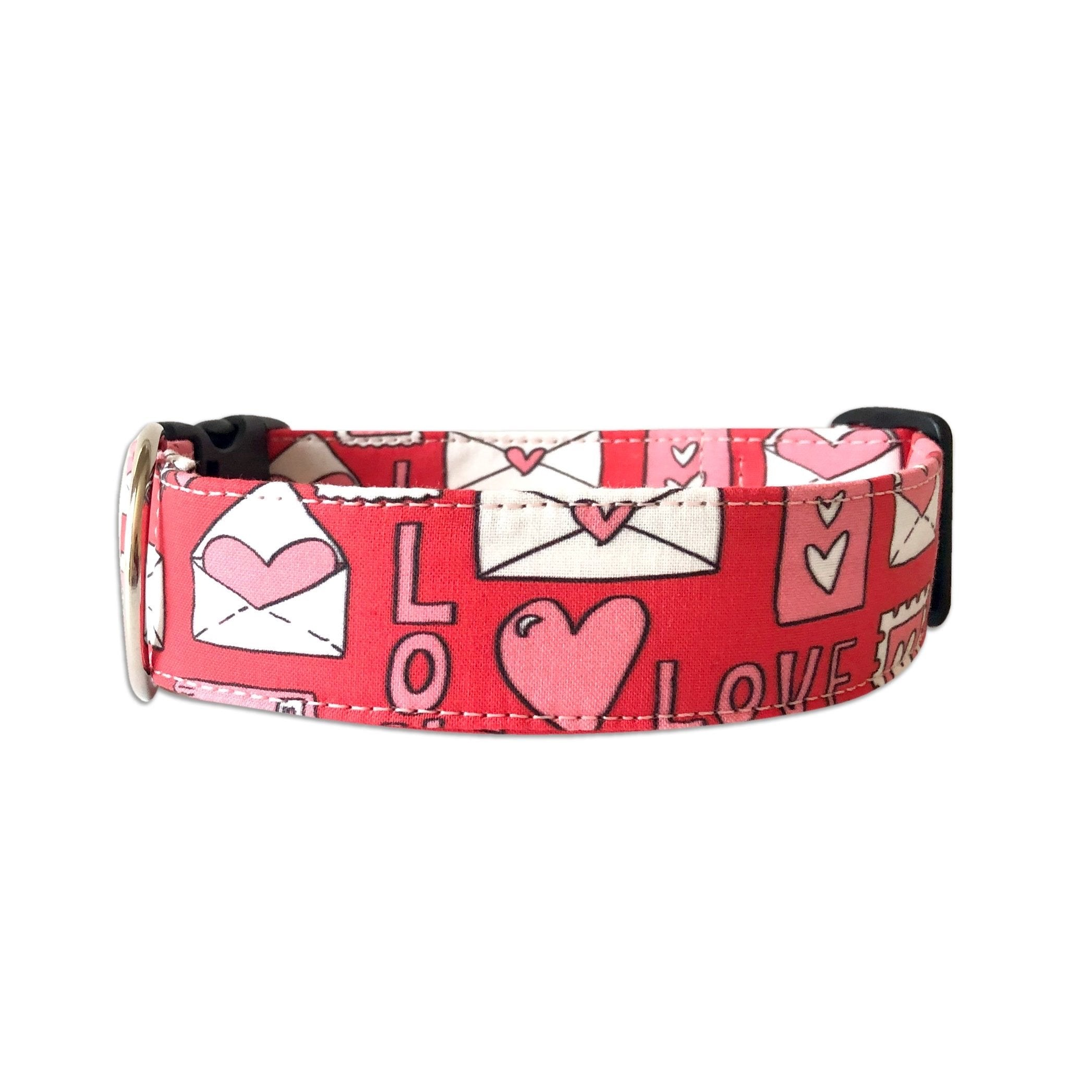 Love Letters Valentines Day Collar