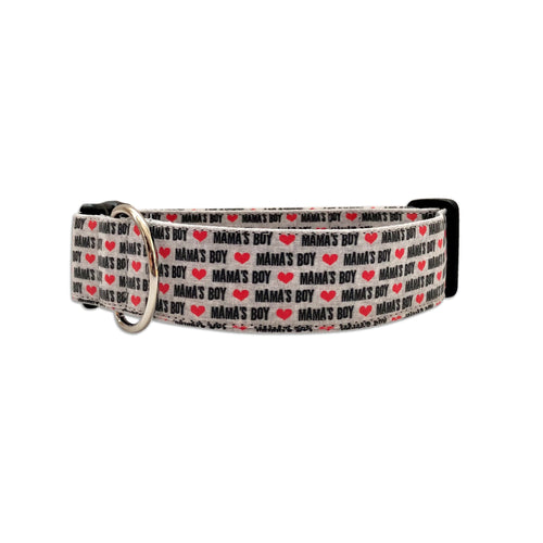 Mamas Boy Valentines Day Collar