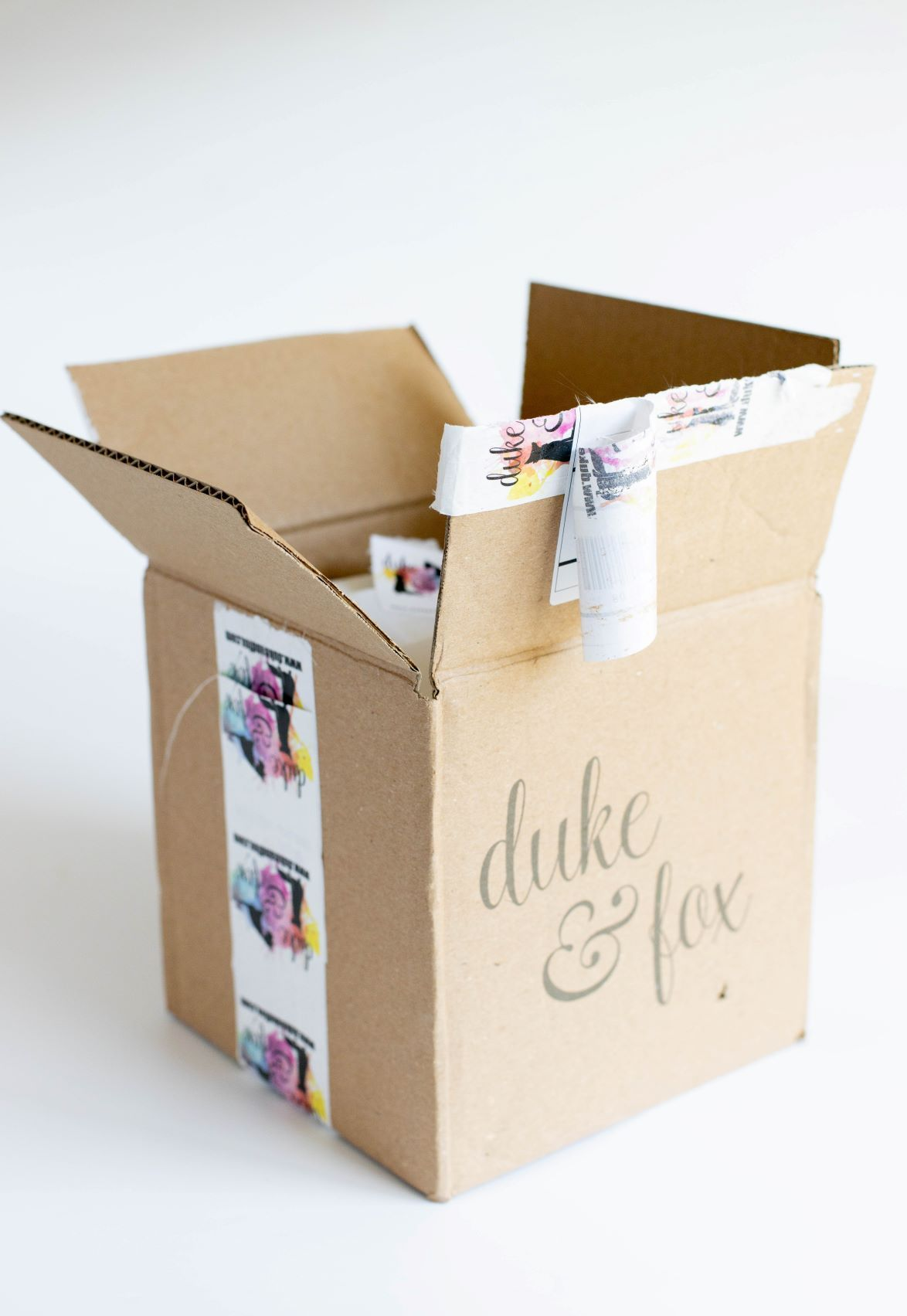 The Summer Duke & Fox Dog Box