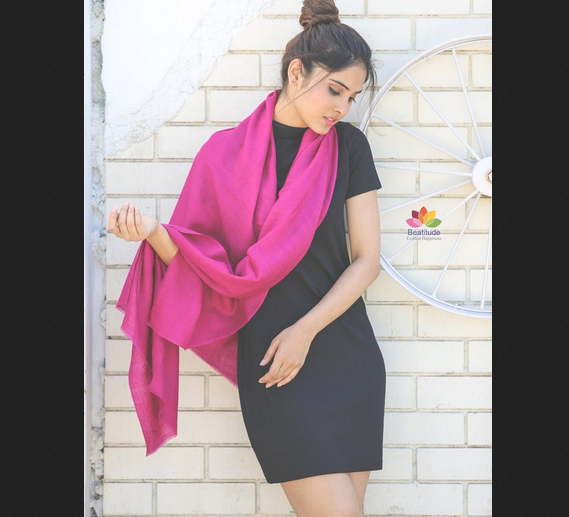 Stylish Ways To Drape These Designer Stoles With Your Outfit