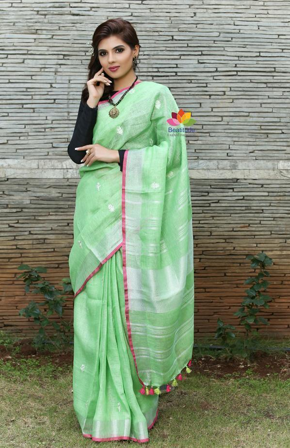 Linen Sarees – A Perfect Blend of Style, Comfort and Convenience