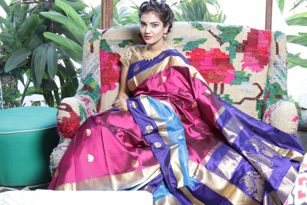 5 Reasons Why Your Wardrobe Needs A Kanjeevaram Silk Creation
