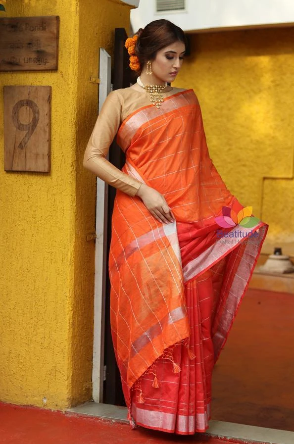 Linen Sarees: Get That Sophisticated Look In Every Occasion