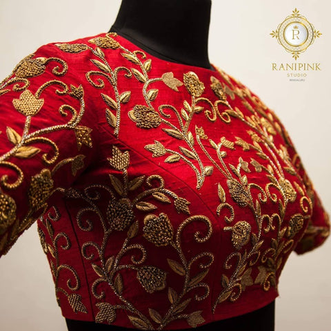 Gold embroidery thread img
