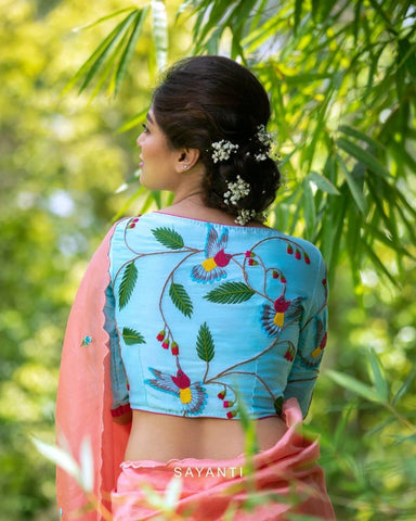 quirky-blouse-designs