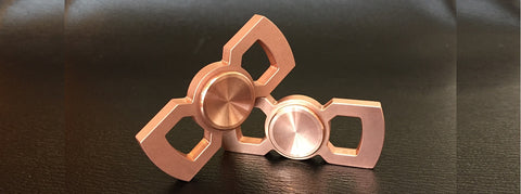 copper rotobow edc spinner