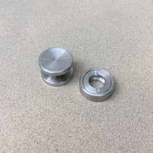Fidget Spinner Buttons and Adapter 608 to R188 bearing Stainless Steel