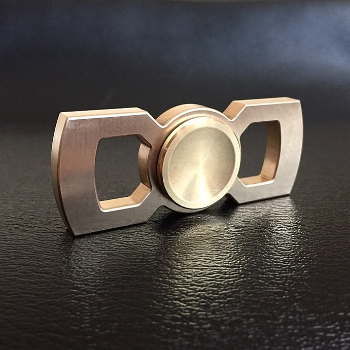 Brass premium fidget spinner by Rotobow