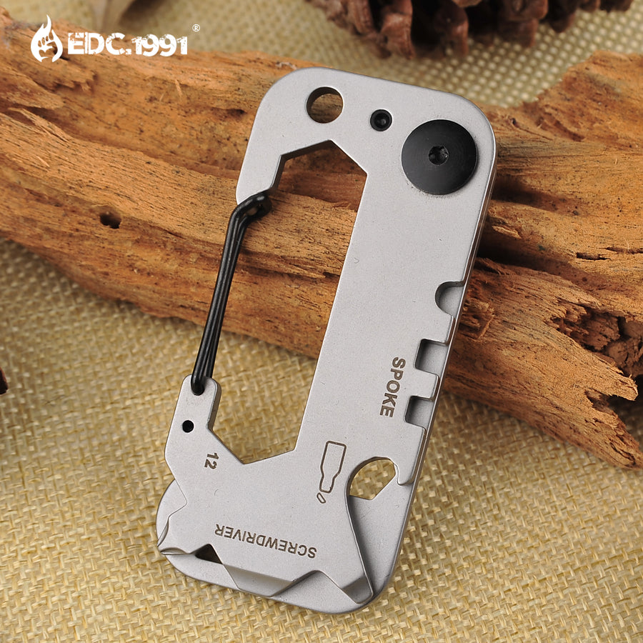 420 stainless steel Outdoor portable tool Multitools EDC multi-function tool keychain Camping survival gear
