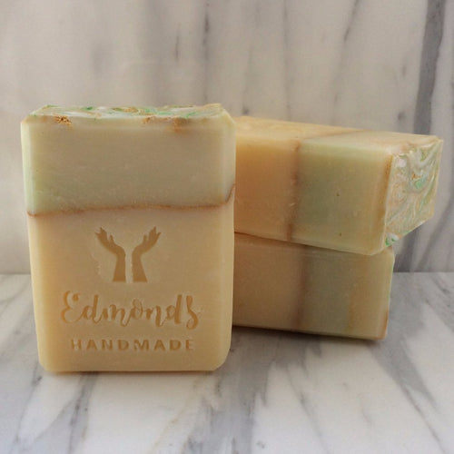 LEMONGRASS AND GINGER SOAP, 5 oz bar