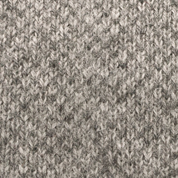 Cashmere Knit Tie - Grey - Oxford Rowe