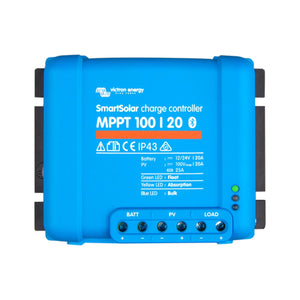 Victron Smart Solar MPPT Charge Controller 100/20