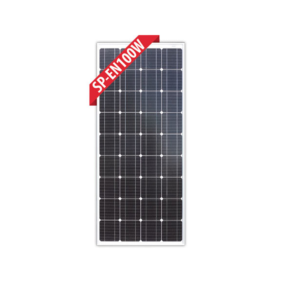Enerdrive 100W Fixed (Glass) Solar Panel