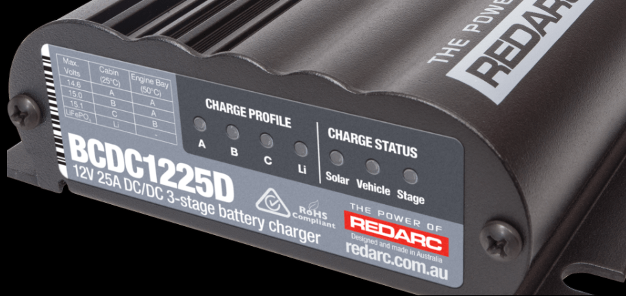 REDARC BCDC1225D Battery Charger
