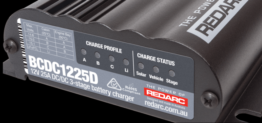REDARC BCDC1225D Battery Charger Solar - CONTACT US FOR PRICING