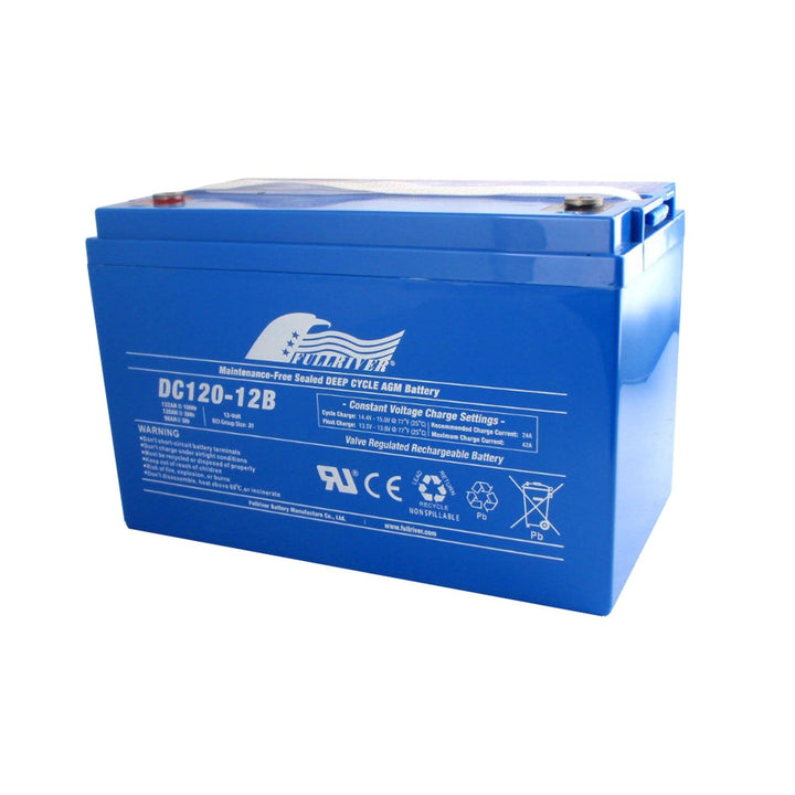 Full River 120Ah AGM Battery