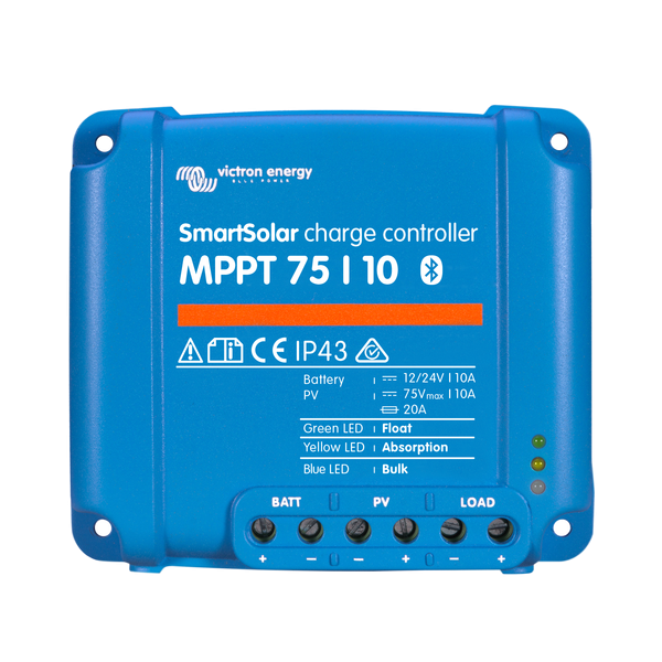 Victron Smart Solar MPPT Charge Controller 75/10
