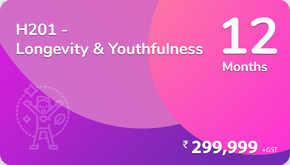 H201 - Holistic Ojas for your Longevity & Youthfulness (HOLY),  in 12 Months